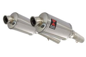 BWE Slip-On RVS Ovaal 230mm voor SL1000 Falco 1999-2005
