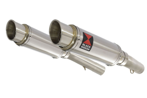BWE Slip-On RVS Rond 230mm voor SL1000 Falco 1999-2005