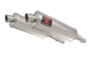 BWE Slip-On RVS Ovaal 400mm voor SL1000 Falco 1999-2005