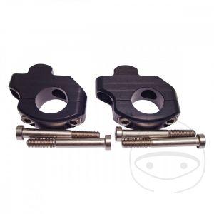 Stuurverhoger LSL 22 mm stuur - 35mm hoger - 16mm naar achter