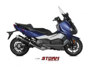 Storm Volledig systeem Oval Zwart voor MAXSYM TL 500 2020 >