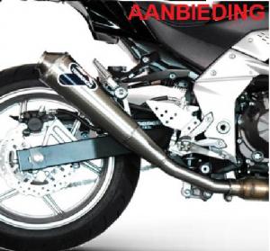 Termignoni Slip-On Titanium opruiming Kawasaki Z750 2007-2014