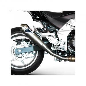 "Termignoni conische roestvrijstalen demper ""GP Style"" goedgekeurd Kawasaki Z 750 2007-2012"