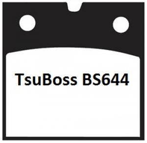 Gesinterde remblokken BS644