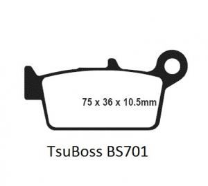 Gesinterde remblokken BS701