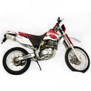 Higashi uitlaat Yamaha TTR600 1998-2003