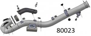 Optionele racing uitlaatbocht KTM 690 SMC R 2021 >