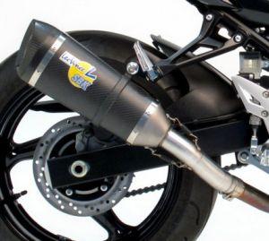 Leovince carbon uitlaat Suzuki GSR750