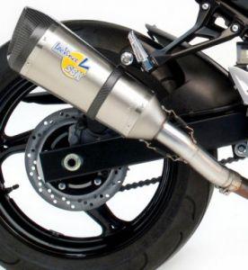 Leovince titanium uitlaat Suzuki GSR750