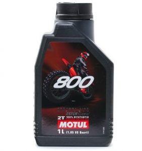 Motorolie 2-takt 1 liter Motul 800 Offroad
