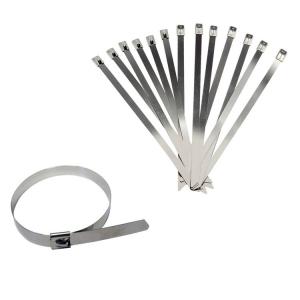 10 straps voor montage uitlaattape en bedrading