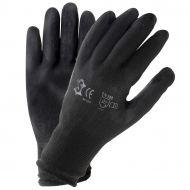 Motorfiets werkhandschoenen PU zwart maat 11 (XXL)