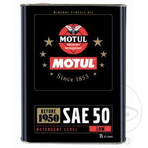 Motorolie 50W Motul Classic Mineraal