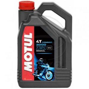 Motorolie 20W50 4 liter Motul 3000