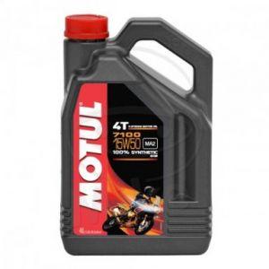 Motorolie 15W50 4 liter Motul 7100