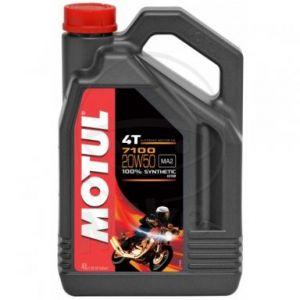 Motorolie 20W50 4 liter Motul 7100