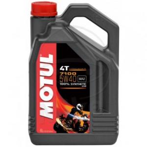Motorolie 5W40 4 liter Motul 7100