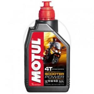 Motorolie 5W40 1 liter SYN Scooter Power