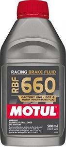 Remvloeistof DOT4 0,5 ltr Motul RBF660 RACING