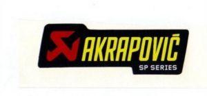 Akrapovic P-HST2ALSP hittebestendige sticker 44x150mm