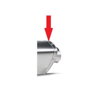 Akrapovic popnagelstrip / nietband P-TT40