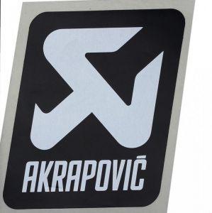 Akrapovic P-VST17AL hittebestendige sticker 75x70mm