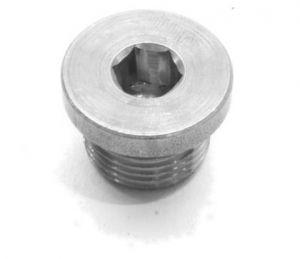 Lambda afdichtdop M12x1,25 staal inbus