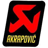 Akrapovic P-VST1AL hittebestendige sticker 95x90mm