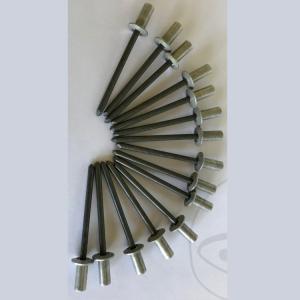 Popnagel 4,8x11 aluminium gasdicht