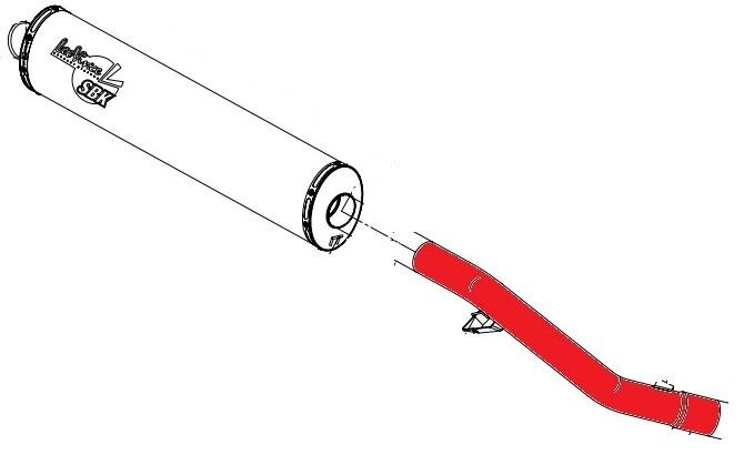 Linkpijp linke pipe verbindingsbuis